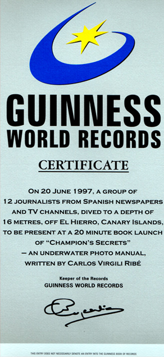 Risck - Marca World Record Guinness de Carlos Virgili Ribé.